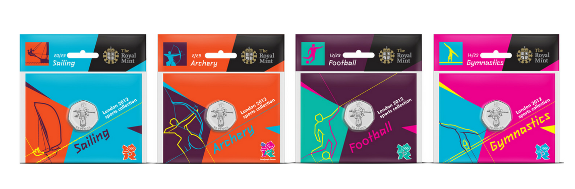 Packaging Design 2012 Olympic Games