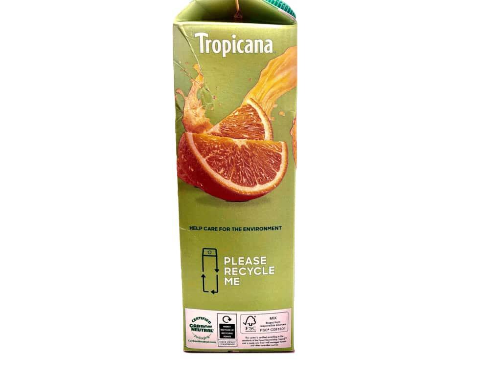 Tropicana Re-cycling call