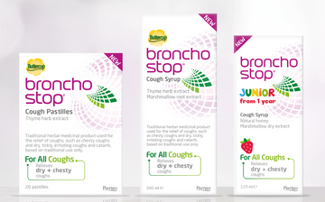 Bronchostop Junior brand extension Reach Brands